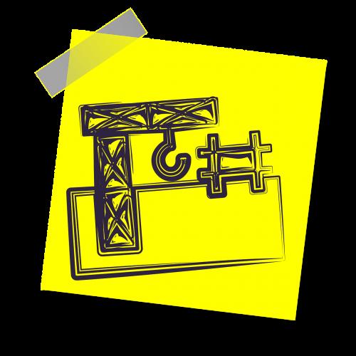 statyba,rangovas,pastatas,struktūra,industrija,architektūra,piktograma,geltona lipdukė,pastaba,rašyti pastabą