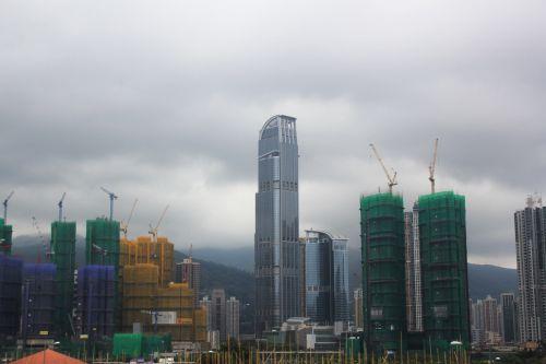statiniai & nbsp, pastatai, konstrukcijos, pastatai, vieta, Honkongas, struktūros, statiniai ir pastatai