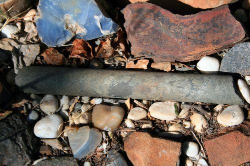 pavyzdys, Rokas, cilindrinis, gręžta & nbsp, šerdies pavyzdys