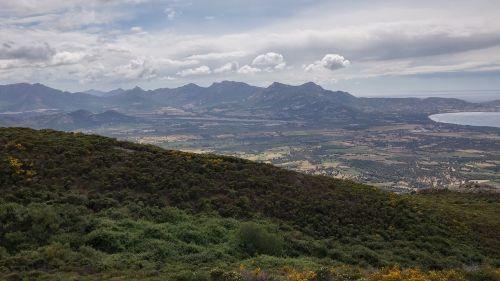 Korsika,panorama,užsakytas,kraštovaizdis,debesuotumas,oras