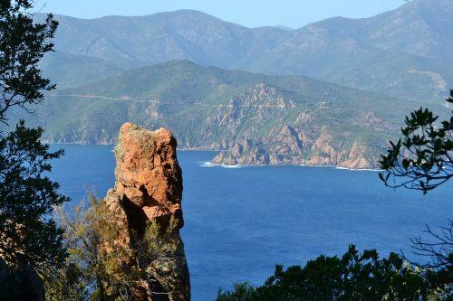 Korsika,piana,france