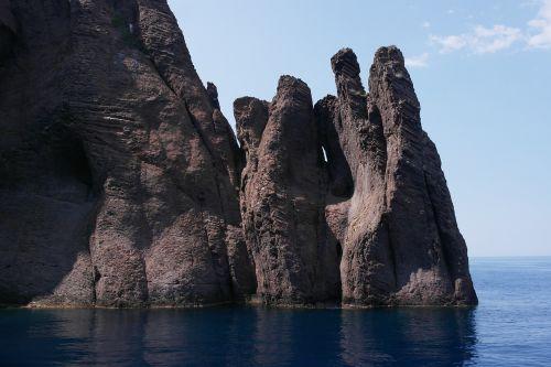 Korsika,france,jūra