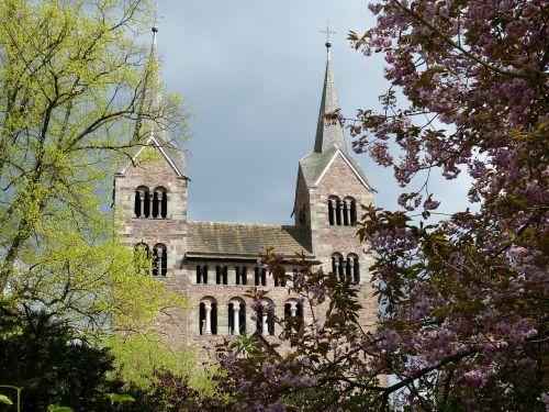 corvey,vienuolynas,bažnyčia,romanesque,Höxter,žemutinė Saksonija,pasaulinis paveldas,istoriškai,Unesco,UNESCO pasaulio paveldo vieta,UNESCO pasaulio paveldas,bokštas,lankytinos vietos