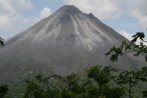 Krantas, & nbsp, Rika, vulkanas, Kosta Rika Vulkanas