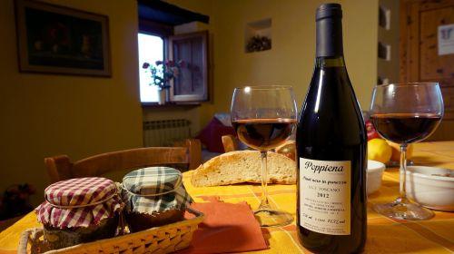 kotedžai-poilsio nuoma,Toskana,vynas