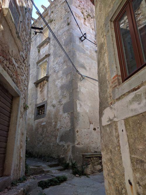 Šalis,senas,Senamiestis,namai,istorinis centras,miestas,žvilgsnis,kelias,alėja,namas,pastatai,sienos,istorikas,kelionė,kelionė,architektūra,Miestas,istorinis miestas,kroatija,istria