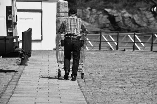 vyras, vaikščioti, vienatvė, vaikščioti, juoda & nbsp, balta, žmonės, vaikščioti vienam