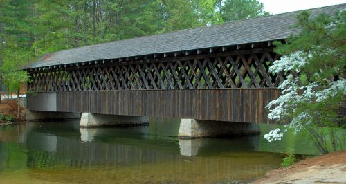 architektūra, tiltas, padengtas, istorinis, kraštovaizdis, gamta, lauke, vaizdingas, struktūra, gabenimas, vintage, medinis, akmuo & nbsp, kalnas, Gruzija, uždengtas tiltas