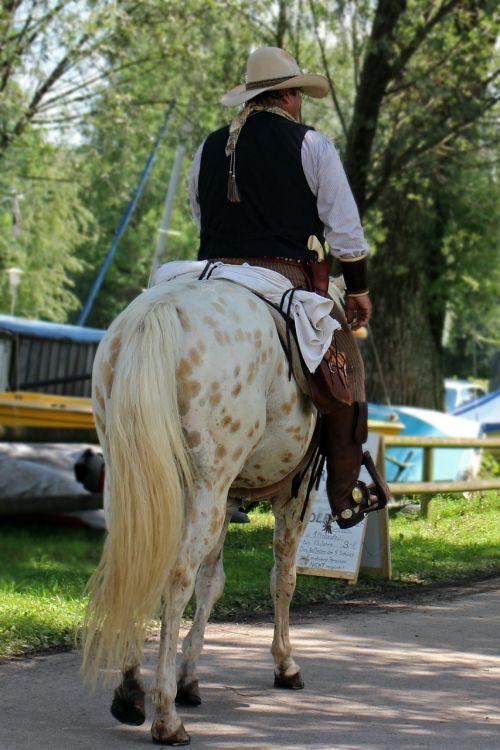 kaubojus,arklys,Reiter,Vakarų,važiuoti