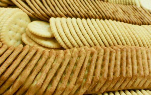 krekeriai, maistas, Ritz, apvalus, kvadratas, ruda, auksinis, užkandis, užkandis, krekerių patiekalas