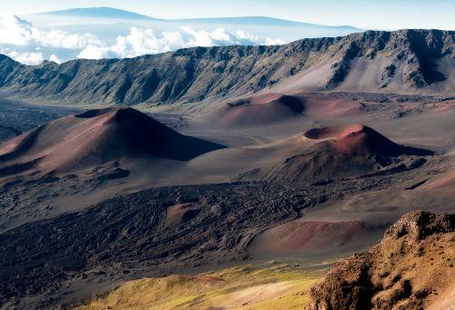 krateris,Haleakala krateris,Hawaii,kraštovaizdis,gamta,lauke,vaizdingas,vulkanas