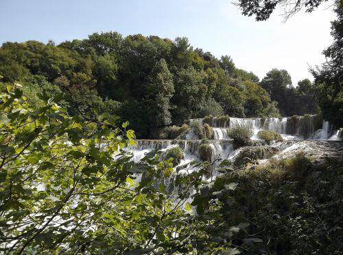 Kroatijos nacionalinis parkas,kroatija,Dalmatijos kriokliai,kriokliai,ežerai,vanduo