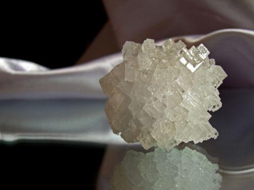 Kristalas, Druska, Akmuo, Balta Druska, Objektas, Ornamentas