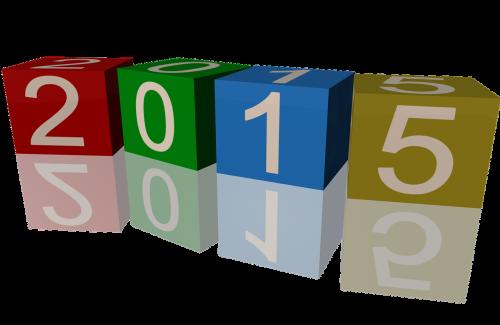 kubeliai,2015 m.,3d,padengtas,numeriai,metai,kalendorius,kūrybingas,data,kauliukai,žaidimas