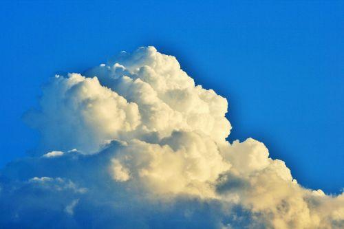 cumulus cloud,debesis,cumulus,balta,didelių gabaritų,sukrauti,tankus,dangus,mėlynas