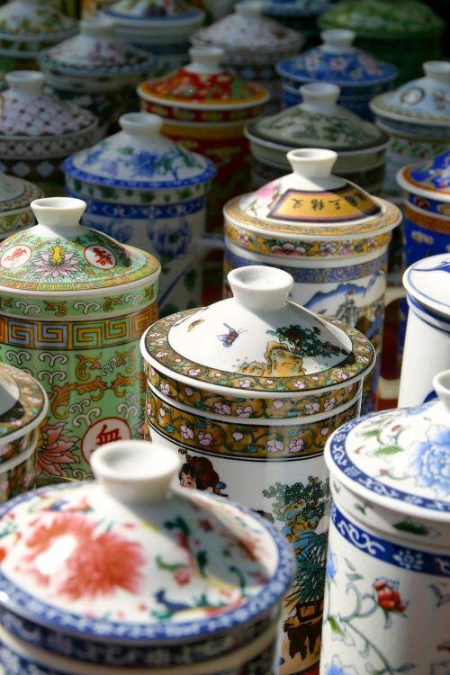 taurė,ąsočiai,porcelianas,turgus,pirkti,prekyba,pardavimas,verslas