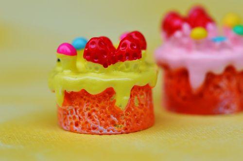 cupcake,tortas,miniatiūrinė,keramika,juokinga,apdaila,trapi,deko