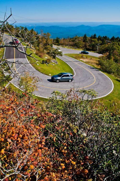 kreivė, kalnas, kelias, kalnai, automatinis, automobiliai, kelionė, gamta, kraštovaizdis, kreivė kalnų keliuose