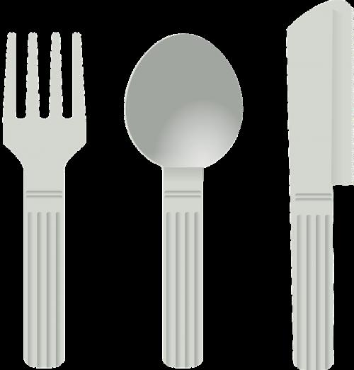 stalo įrankiai,šakutė,šaukštas,peilis,patiekalas,valgyti,įrankiai,nemokama vektorinė grafika