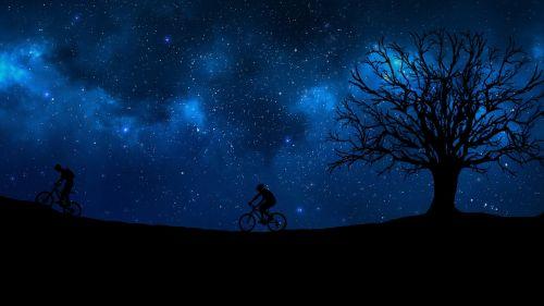 dviračiu,naktis,medis,erdvė,šviesa,laikas,astronomija,gamta,dangus,šviesus,dizainas,planeta,visata,žvaigždė,paviršius,galaktika,spindesys,šviesti,tamsi,ciklą,vyras,perspektyva,perspektyvus menas,juoda,minimalistinis menas,minimalistinis,vektorius,vektorinis menas,Photoshop,iliustratorius,photoshop menas,iliustratoriaus menas,yatheesh menas,silueto menas,siluetas,šešėlis,poveikis,plakatas,filialai,tapetai,kraštovaizdis,kraštovaizdžio menas,silueto tapetai,darbalaukio tapetai,kosmosas
