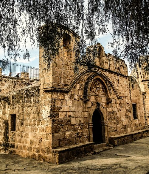 Kipras,ayia napa,vienuolynas,viduramžių