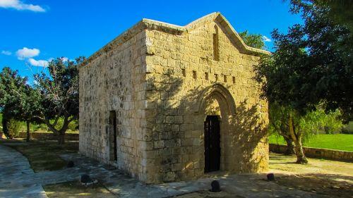 Kipras,ayia napa,ayia varvara,koplyčia