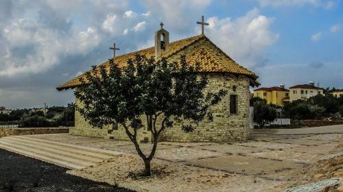 Kipras,ayia napa,bažnyčia,ortodoksas