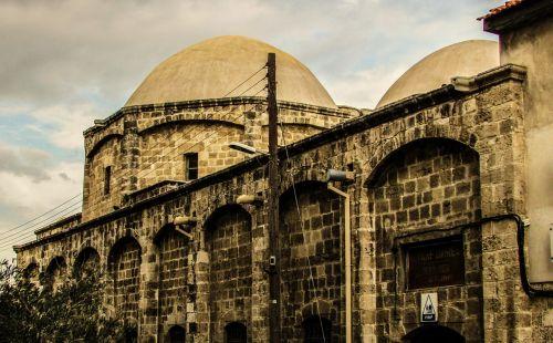 Kipras,larnaka,Senamiestis,ottoman,pastatas,architektūra