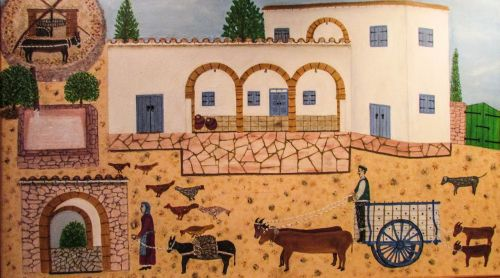 Kipras,avgorou,etnografijos muziejus,kaimo gyvenimas,senas namas,kaimas,tradicija,architektūra,tradicinis,ūkis,dažymas