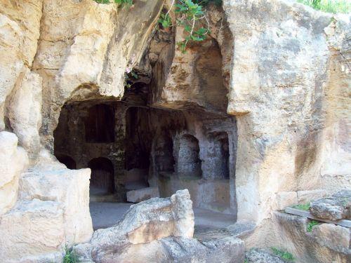 Kipras,paveldas,karalių kapas,mauzoliejus,kapinės,kapas,senovės,kultūra,akmuo,senas,laidojimas,religija,Europa,tuščias kapas