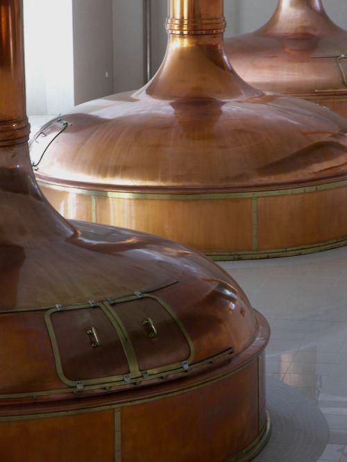 čekų,respublika,Čekijos Respublika,pilsen,alus,alaus darykla,virduliai,varis,užvirinti,alaus
