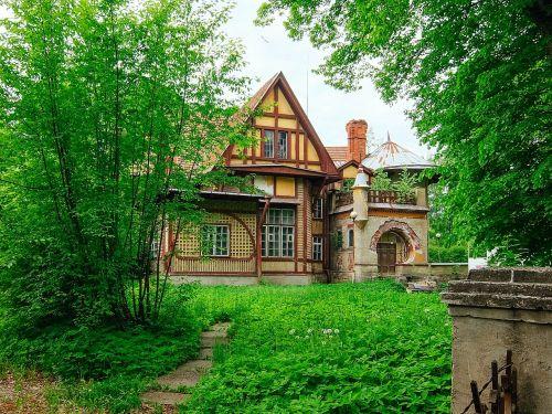 dacha,pastatas,namas,sunaikinimas,senas,Irene Adlerio namas,šerlokas,Šerlokas Holmsas,dacha hauswald,Sankt Peterburgo rusija,akmens sala,architektūra,Holmes