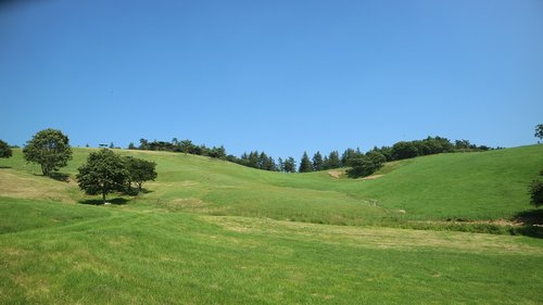 daegwallyeong, vasara, ranča