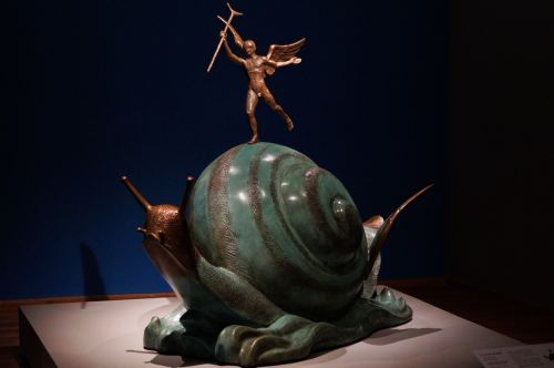 dali,museo soumaya,salvador dali,sirrealizmas,sraigė ir angelas