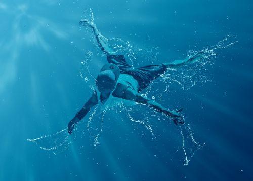 šokėja,vanduo,judėjimas,juda,atlikėjas,lankstumas,elegancija,purslų,Sportas,aktyvus,šokiai