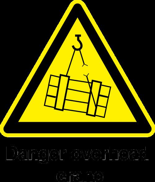 pavojus krautuvas kranas,įspėjamasis ženklas,atsargus ženklas,pavojus,pavojus,statybos ženklas,nemokama vektorinė grafika