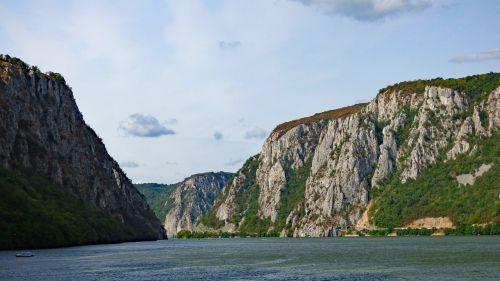 Danube,upė,kelionė,geležiniai vartai,Gorge,Serbija