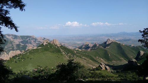 daqingshan,vidinė Mongolija,kalnai,ištempimas