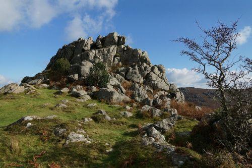 dartmoor granitas,granitas,dartmoor,akmenys,tor
