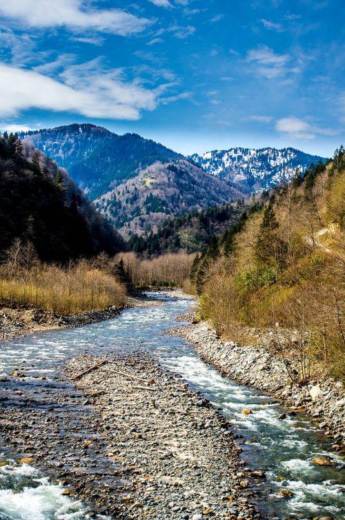 dd,transliacijos,kraštovaizdis,žalias,mėlynas,vanduo,debesis,natūralus gyvenimas,upė,sirnak,gamta,šviesa,fonas,atostogos,taika,natūralus kalakutas,medis