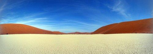 deadvlei, Namibija, sausra, medis, Afrikoje, miręs vlei, mėlyna, dangus, baltos spalvos, sudegino, sausas, Namibo, Dune, dykuma