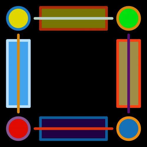 rėmas, kvadratas, juoda, spalva, deko, dekoratyvinis, fonas, geometrinis, figūra, linija, kreivė, deko rėmas