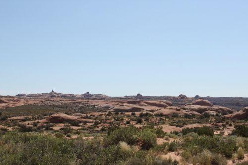 dykuma,vaizdingas,kraštovaizdis,Rokas,Utah