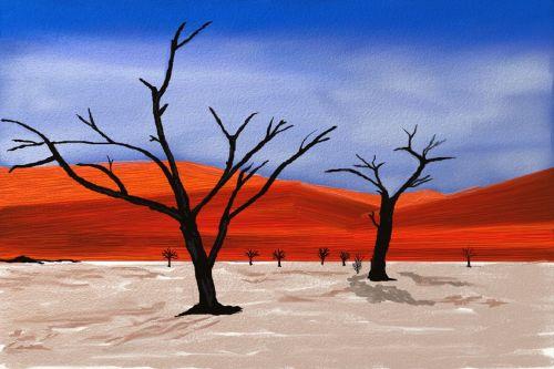 Dykuma, Gamta, Afrika, Smėlis, Kraštovaizdis, Balta Dykuma, Sausas