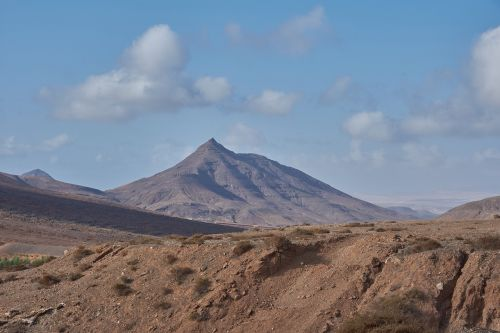 dykuma,kalnas,Wölke,saulė,lava,ugnikalnio sala,Fuerteventura