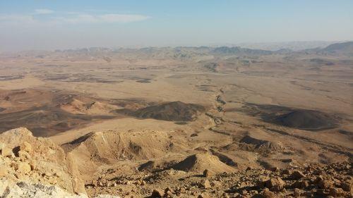 Dykuma, Krateris, Negev, Izraelis, Kraštovaizdis, Kanjonas, Gamta