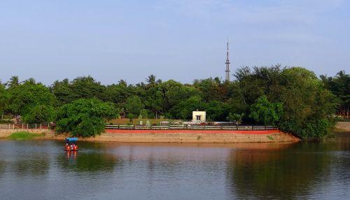 Dharwad,Sadhankeri,Karnataka,Hubli,Indija,ežeras,vanduo,kelionė