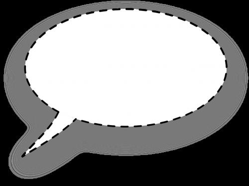 dialogo langas,burbulas,suapvalintas,punktyrinė linija,tablėtė,citata,mąstymas,pokalbis,tuščias,nemokama vektorinė grafika