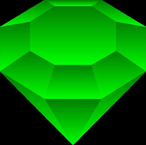 deimantas,brangakmenis,brangakmenis,brangakmenis,poliruotas,brangus,akmuo,simetrija,tvirtas,žalias,nemokama vektorinė grafika