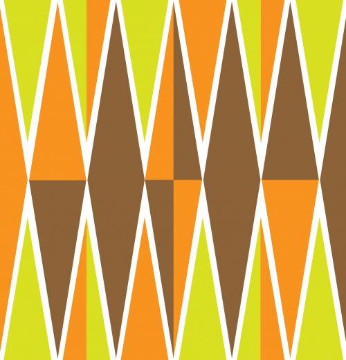 deimantas, deimantai, trikampis, trikampiai, ruda, oranžinė, žalias, spalvinga, modelis, dizainas, tapetai, fonas, menas, iliustracija, Scrapbooking, deimantai oranžinės spalvos